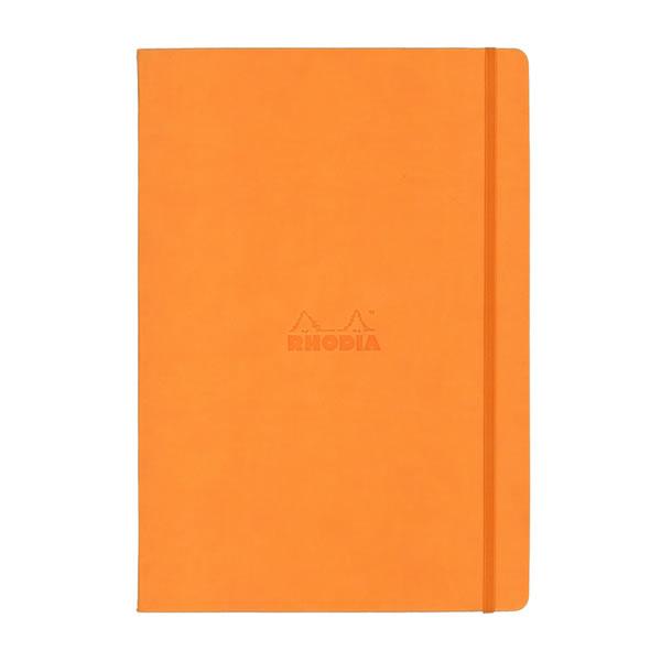 ロディア ウェブノート オレンジ A4 ドット