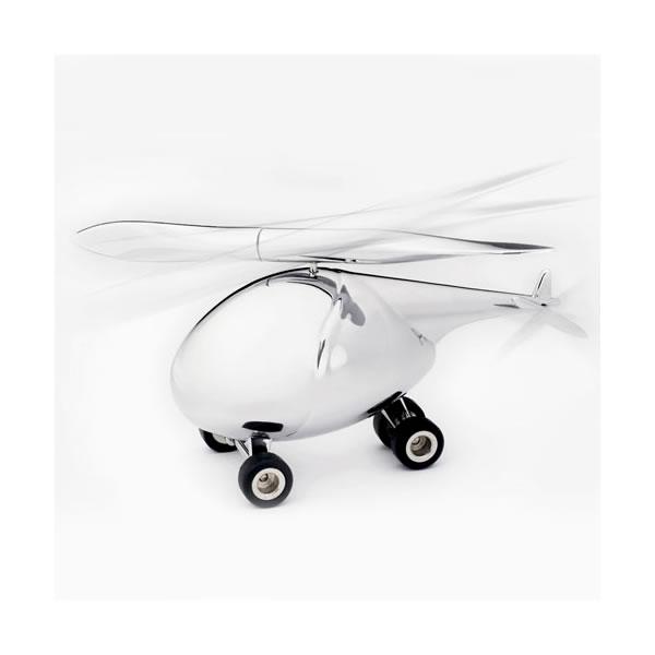 トロイカ ヘリコプター(ペーパーウェイト&ボールペン/レターオープナー)