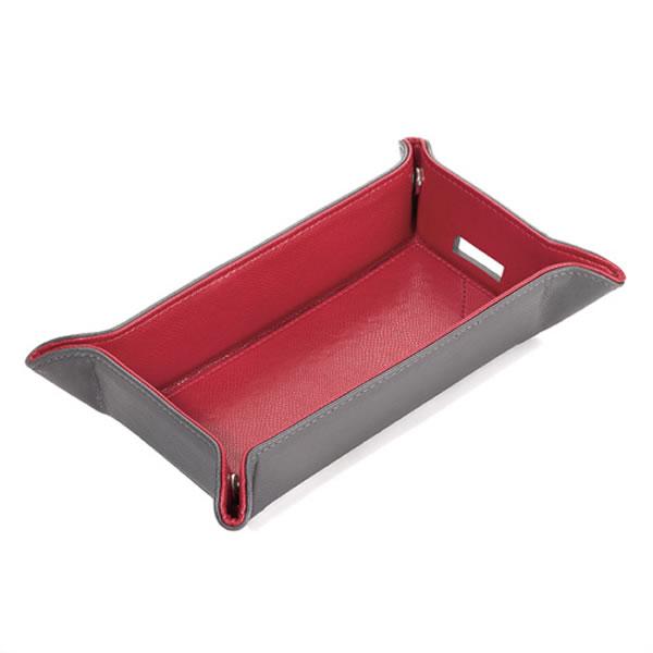 トロイカ 折り畳み式トレー カラリ エクセレント レッドステップ