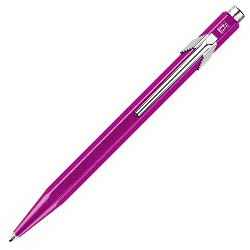 カランダッシュ ボールペン 849 POPLINE(ポップライン) メタルX パープル