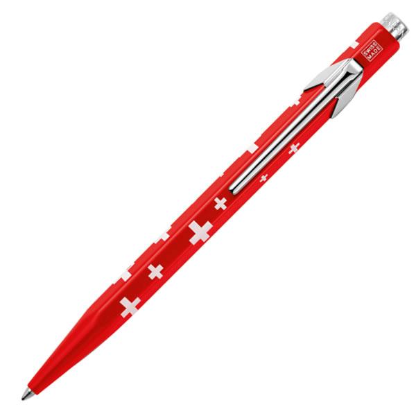 カランダッシュ ボールペン 849 POPLINE(ポップライン) トータリースイス スイスフラッグ