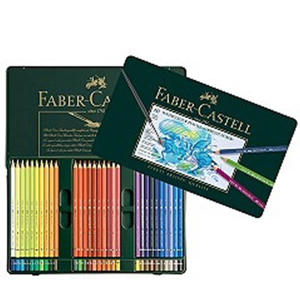 ファーバーカステル アルブレヒトデューラー 水彩色鉛筆 60色缶入り <鉛筆削りおまけ付き>