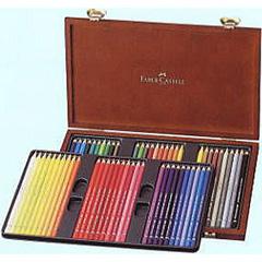 ファーバーカステル アルブレヒトデューラー 水彩色鉛筆 60色木箱入り <鉛筆削りおまけ付き>