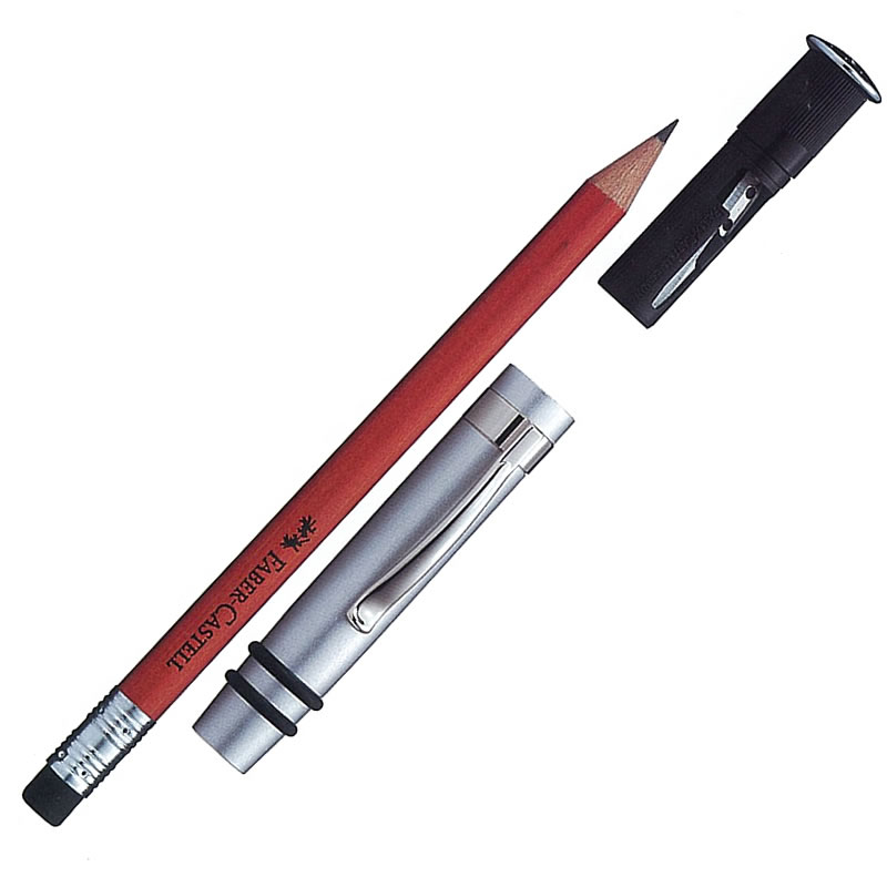 ファーバーカステル 鉛筆ホルダー UFOパーフェクトペンシル ギフトセット ブラウン