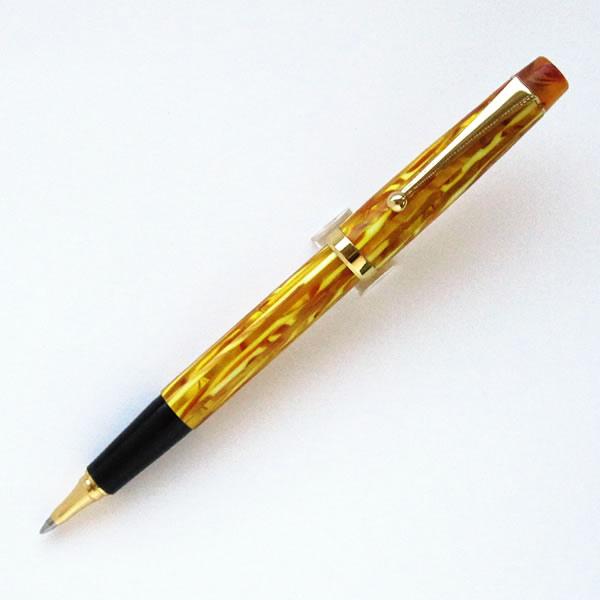 ロングプロダクツ キャップ式ボールペン ゴールド <超希少品>