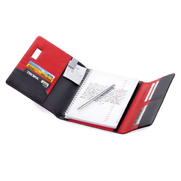 トロイカ DIN手帳カバー(両面開き) レッドペッパー A5サイズ