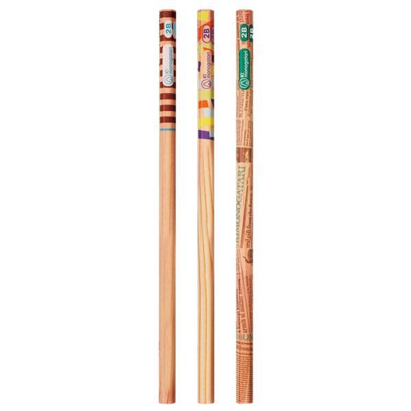 トンボ鉛筆 Ki monogatari(木物語) かきかた鉛筆 オレンジ 1ダース