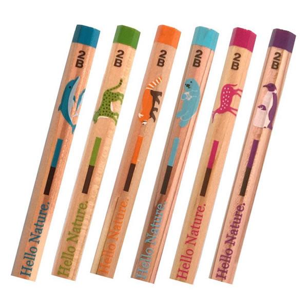 トンボ鉛筆 ハローネイチャー(Hello Nature.)かきかた鉛筆 コウテイペンギン1ダース