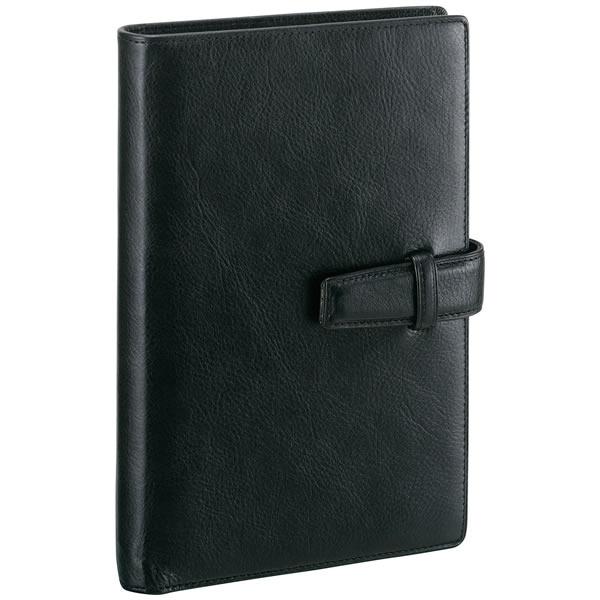 【名入れ可】ダ・ヴィンチ スタンダード 聖書サイズ ブラック システム手帳(リング15mm)