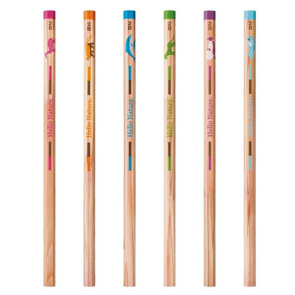 トンボ鉛筆 ハローネイチャー(Hello Nature.)かきかた鉛筆 レッサーパンダ 1ダース