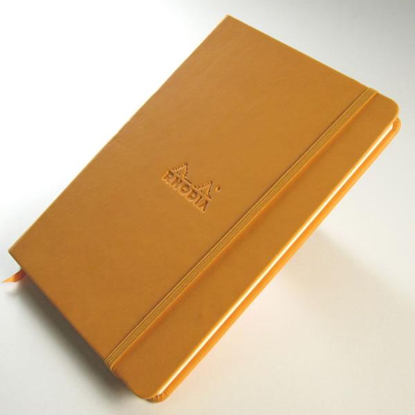 ロディア ウェブノート オレンジ A6 ドット