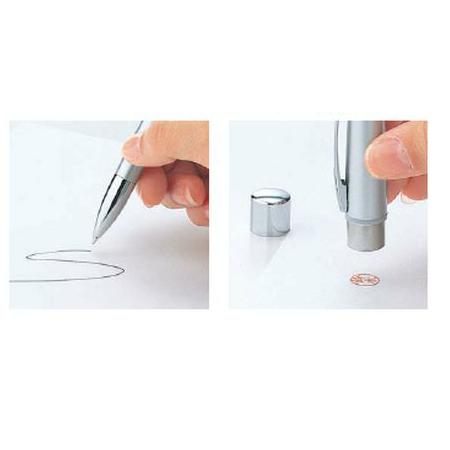 【メールオーダー式】シャチハタ ネームペン プリモ ホワイト <印鑑付きボールペン>