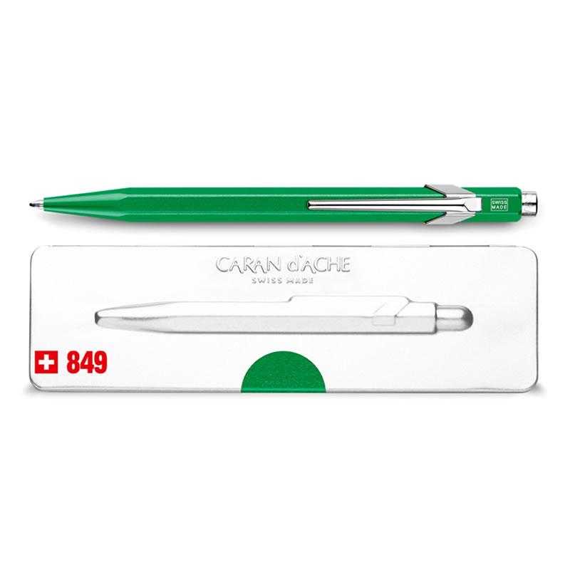 カランダッシュ ボールペン 849 POPLINE(ポップライン) メタルX グリーン