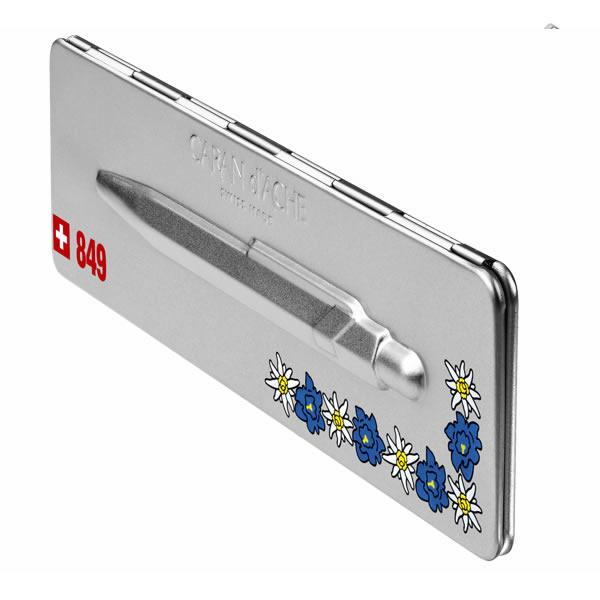 カランダッシュ ボールペン 849 POPLINE(ポップライン) トータリースイス エーデルワイス