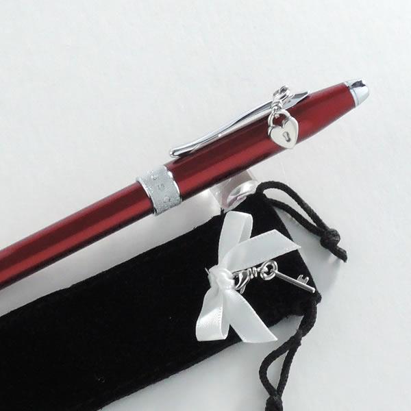 クロス ボールペン センチメント スカーレットレッド