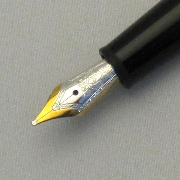 モンブラン 万年筆 マイスターシュテュック ゴールドコーティング クラシック 145