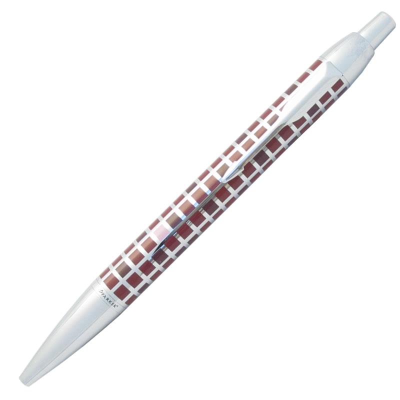パーカー ボールペン IM デコ・スクエア レッドCT