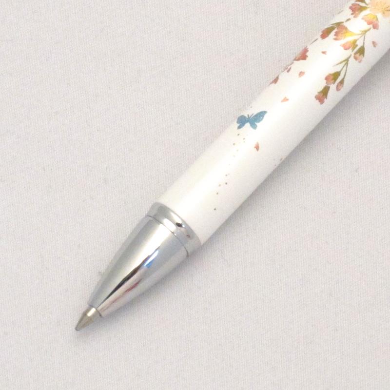 セーラー 複合筆記具 優美蒔絵 枝垂桜 ホワイト