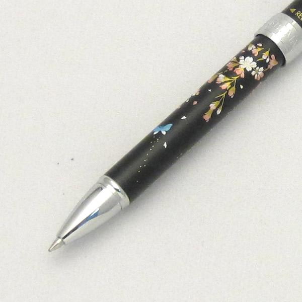 セーラー 複合筆記具 優美蒔絵 枝垂桜 ブラック