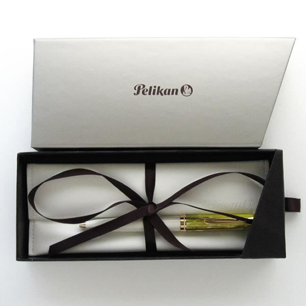 【限定品】ペリカン ボールペン スーベレーン K600 ホワイトトータス <特別生産品>