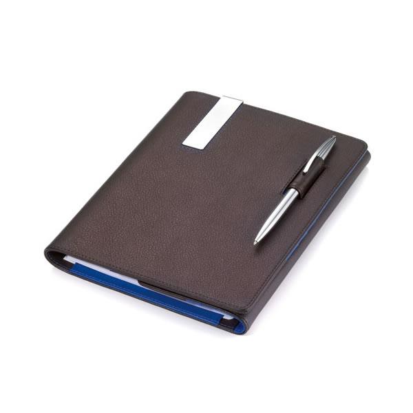 トロイカ DIN手帳カバー(両面開き) ブルーキャニオン A5サイズ