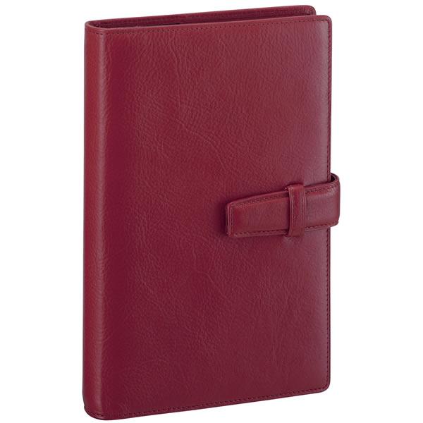 【名入れ可】ダ・ヴィンチ スタンダード 聖書サイズ ワイン システム手帳(リング15mm)