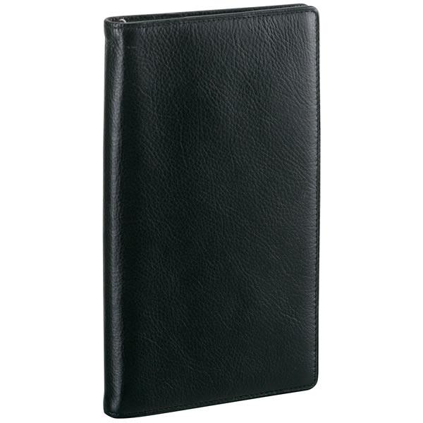 【名入れ可】ダ・ヴィンチ スタンダード ジャストリフィルサイズ 聖書サイズ ブラック システム手帳(リング8mm)