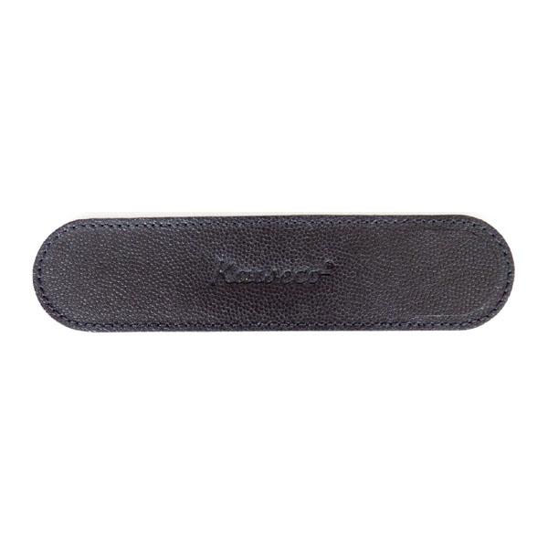 カヴェコ エコ ソフトレザー ロングケース ペンケース 1本用 ブラック
