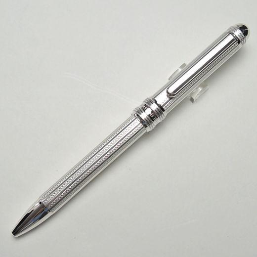 プラチナ万年筆 多機能ペン スターリングシルバー ダブル 3 アクション #3 アミシマ 替え芯セット <ギフトセット>