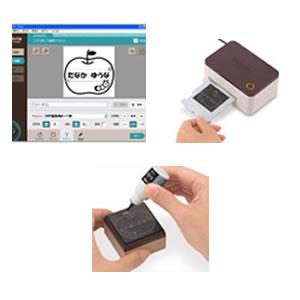 カシオ スタンプメーカー ポムリエ <Wi-Fi/USB接続モデル>