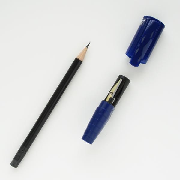 【日本文具大賞受賞】ファーバーカステル 鉛筆 KIDS パーフェクトペンシル ジャンボ ブルー(鉛筆削りキャップ付き)