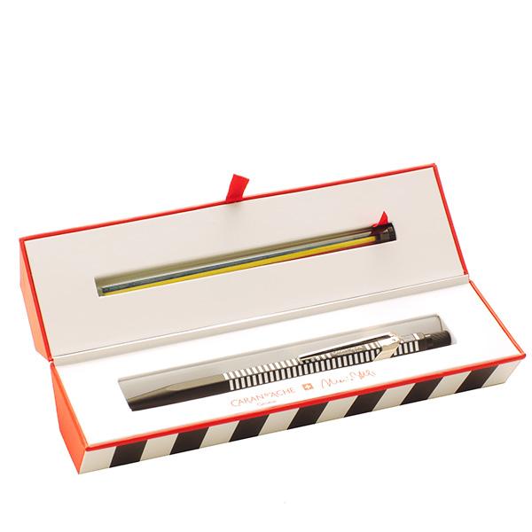 【限定品】カランダッシュ シャープペン フィックスペンシル マリオ・ボッタ ホワイト 2mm