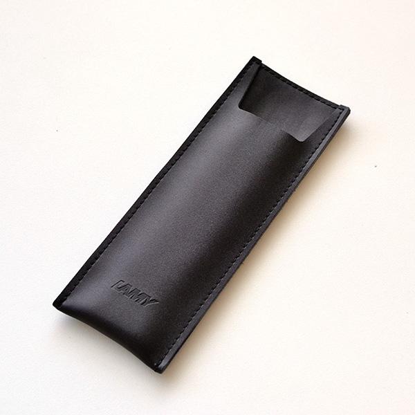【名入れなし】[限定品]ラミー サファリシャイニーブラック(万年筆+ボールペン) <ペンケース付き・ギフトセット>