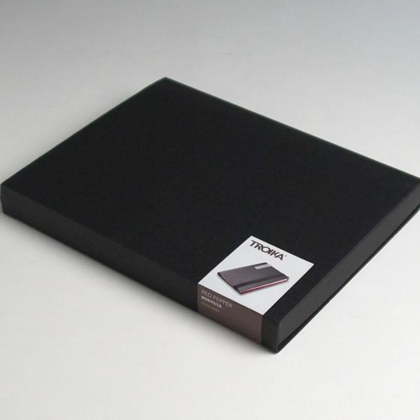 トロイカ DIN手帳カバー(片面開き) レッドペッパー A5サイズ