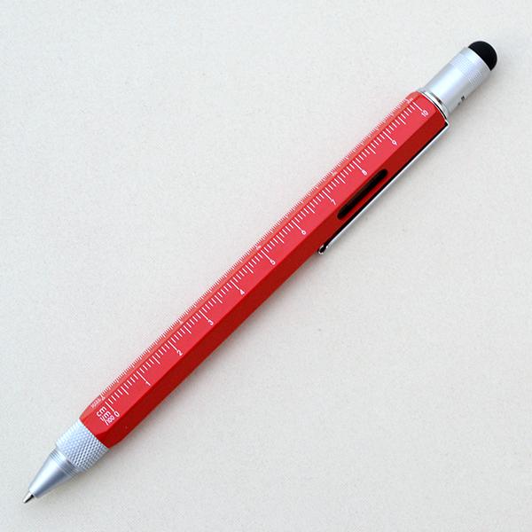 マイスター 多機能ペン ツールペン レッド