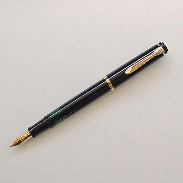 ペリカン 万年筆 クラシック M200 黒<会員登録後のレビュー記入お約束でボトルインク付き>