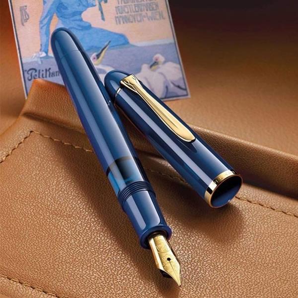 限定品 ペリカン 万年筆 M120 アイコニックブルー