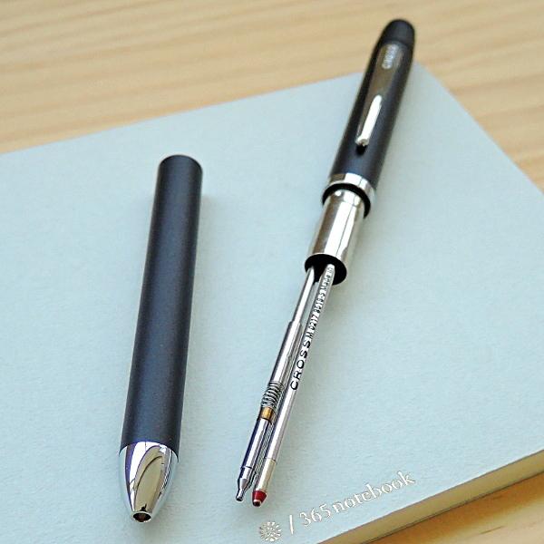 【名入れ特急便】クロス 多機能ペン テックスリープラス ブラック