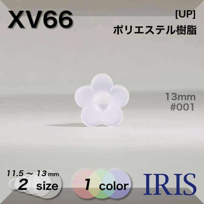 XV66 ポリエステル樹脂 角足ボタン  2サイズ1色展開