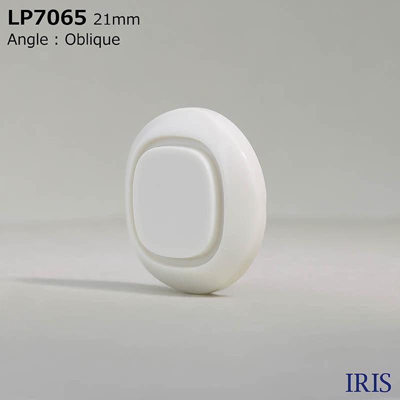 LP7065 カゼイン樹脂 トンネル足ボタン  5サイズ2色展開