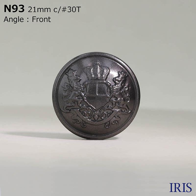 N93 ナイロン樹脂 角足ボタン  6サイズ5色展開