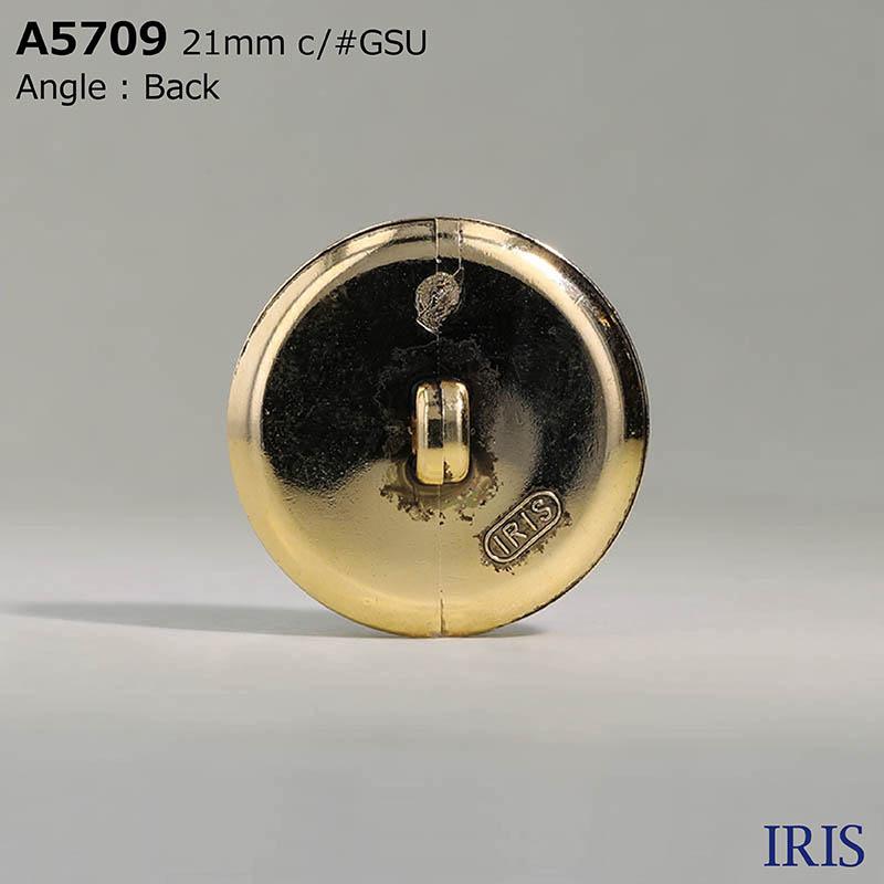 A5709 ガラス/ABS樹脂 角カン足ボタン  3サイズ1色展開
