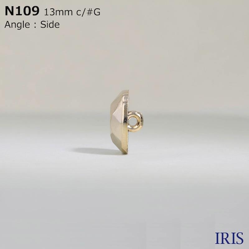 N109 ABS樹脂 丸カン足ボタン  1サイズ4色展開