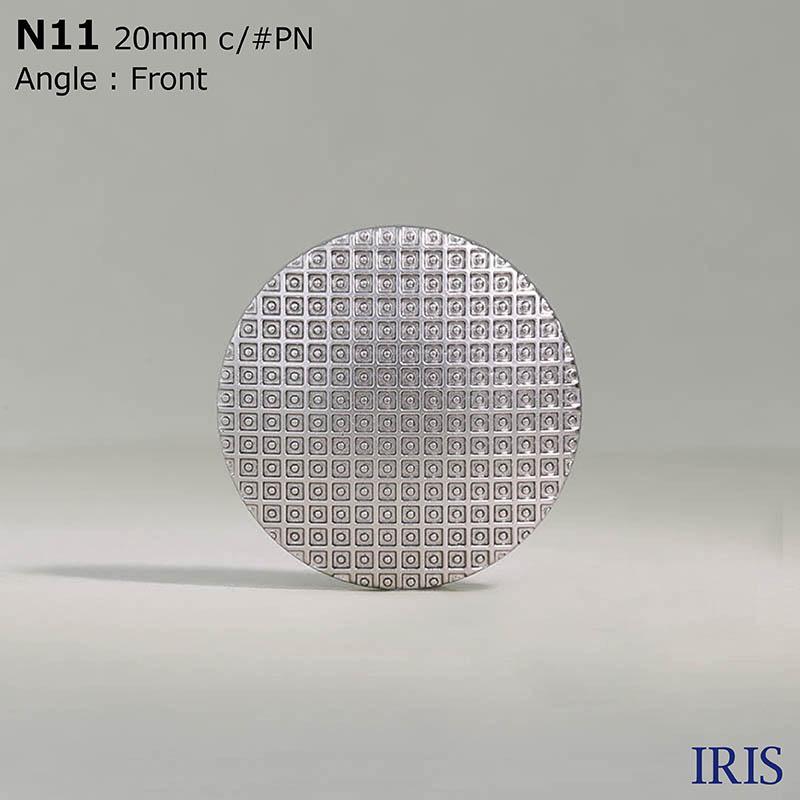 N11 ABS樹脂 角カン足ボタン  4サイズ1色展開