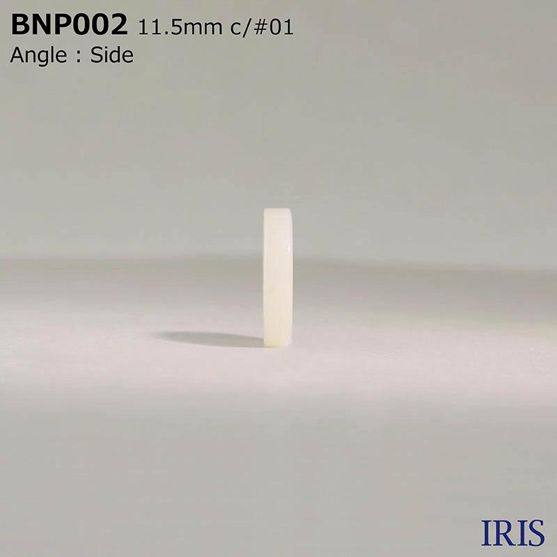 BNP002 ポリエステル樹脂 表穴4つ穴ボタン  3サイズ3色展開