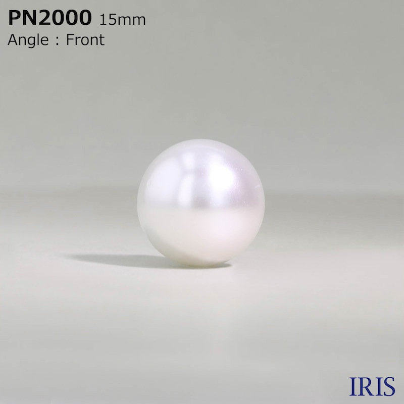 PN2000 パールコーティング 角足ボタン  7サイズ1色展開
