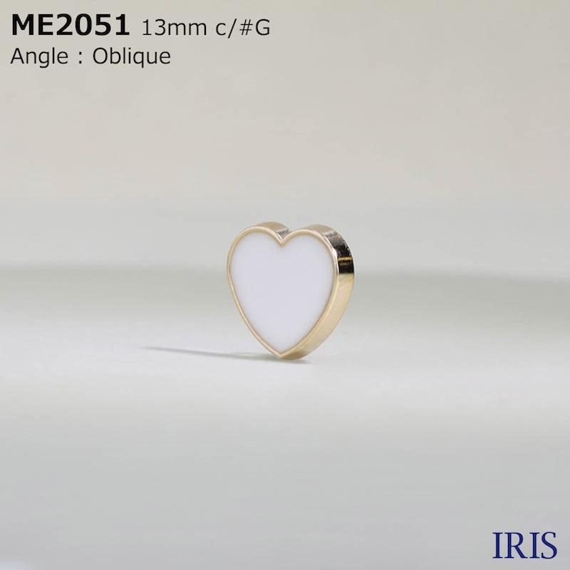 ME2051 エポキシ樹脂/ダイカスト 丸カン足ボタン  1サイズ3色展開