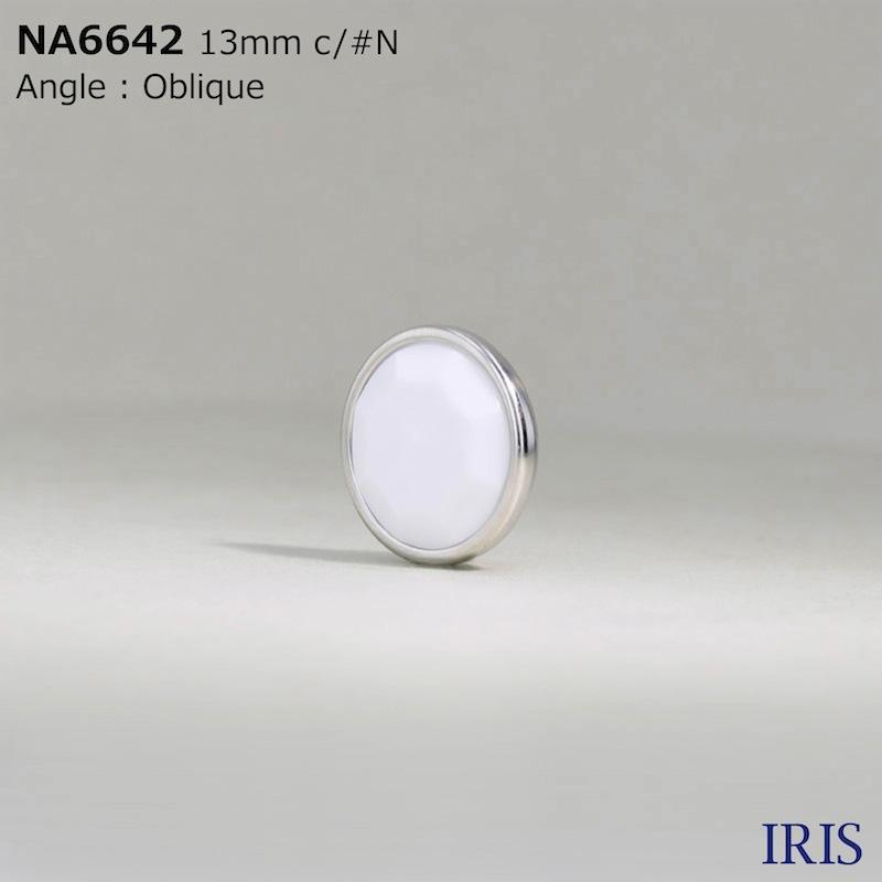 NA6642 ナイロン樹脂/真鍮 トンネル足ボタン  2サイズ3色展開