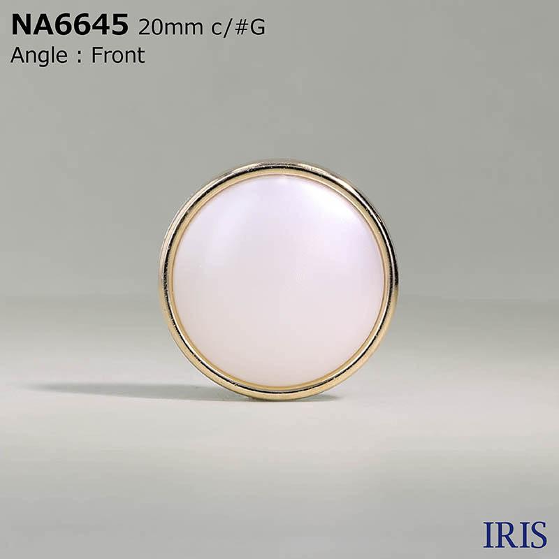 NA6645 ナイロン樹脂/ABS樹脂 角カン足ボタン  5サイズ2色展開