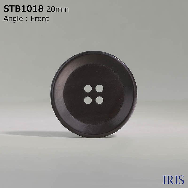STB1018 高瀬貝 表穴4つ穴ボタン  4サイズ1色展開